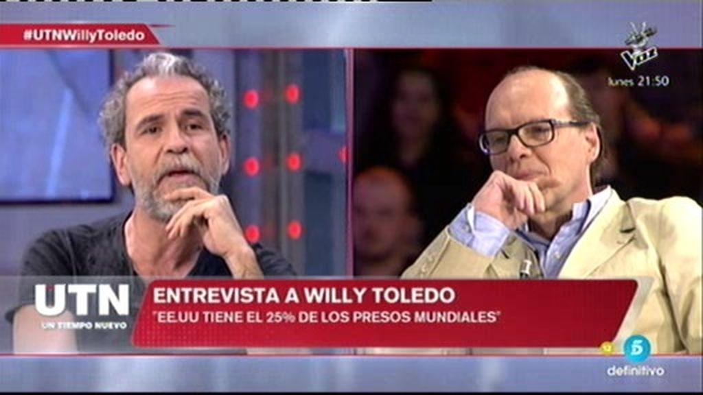 """W. Toledo, sobre Cuba: """"En la revolución cubana nadie ha sido asesinado en una cárcel"""""""