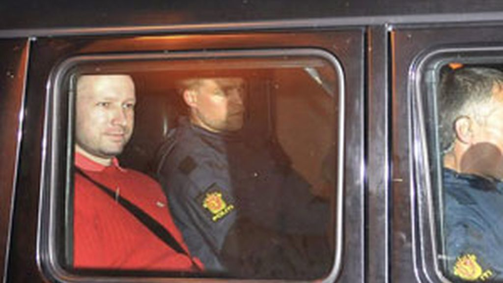 Anders Breivik. Foto: EFE