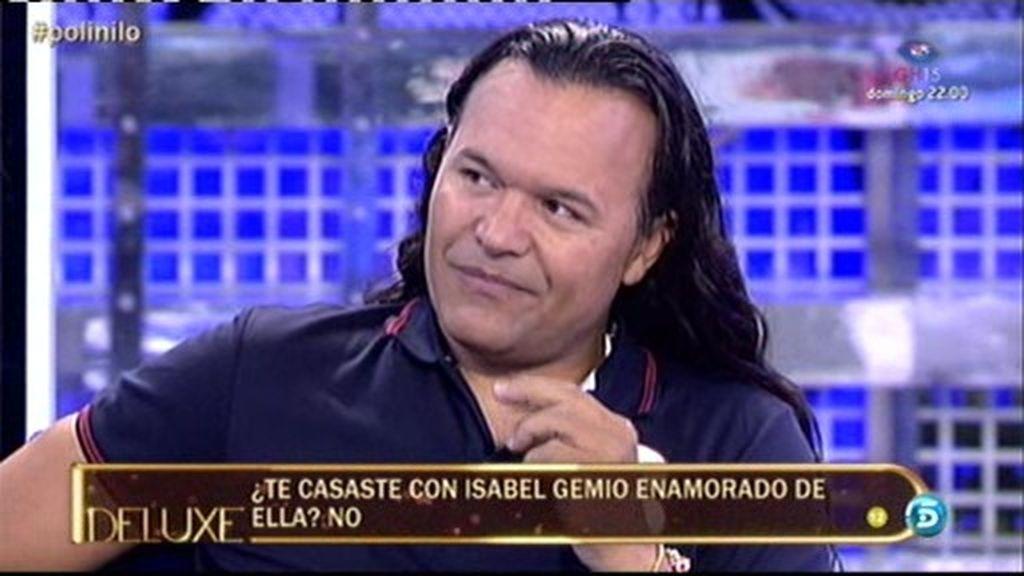 """Nilo Manrique: """"No me casé enamorado de Isabel Gemio"""""""
