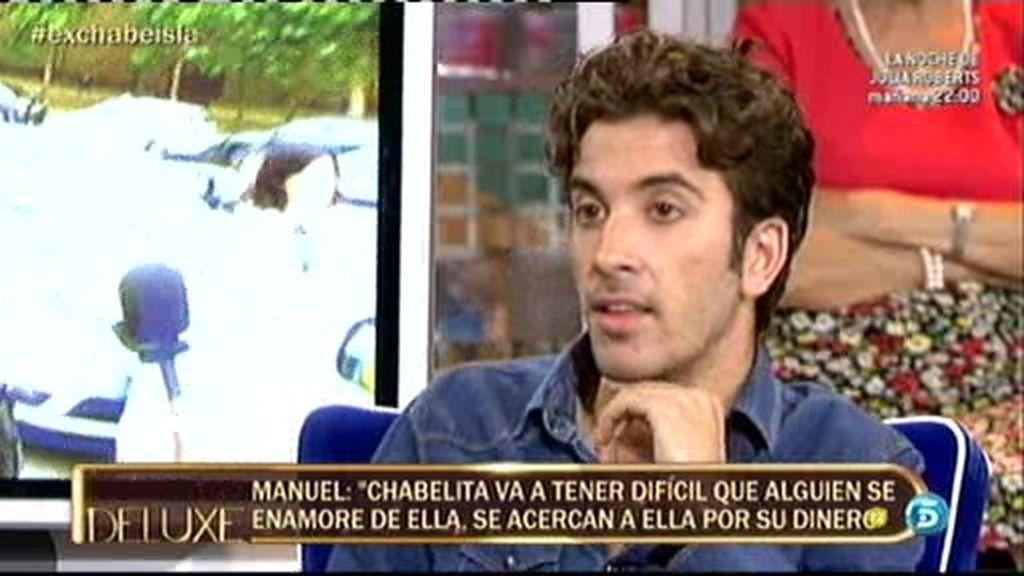"Manuel: ""Me daba morbo que Chabelita fuera hija de Isabel Pantoja"""