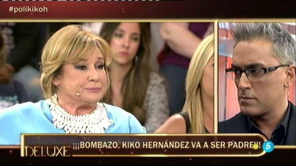 Reacciones de los colaboradores ante la próxima paternidad de Kiko Hernández