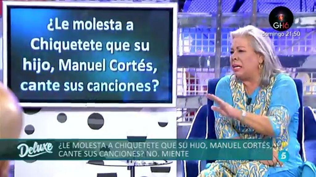 """Carmen Gahona, lo confiesa: """"Chiquetete dice que su hijo desafina como un gato pisado"""""""