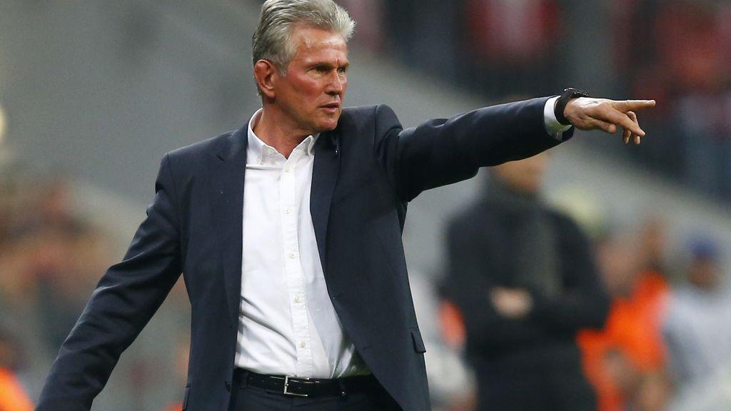 El entrenador del Bayern de Múnich, Jupp Heynckes