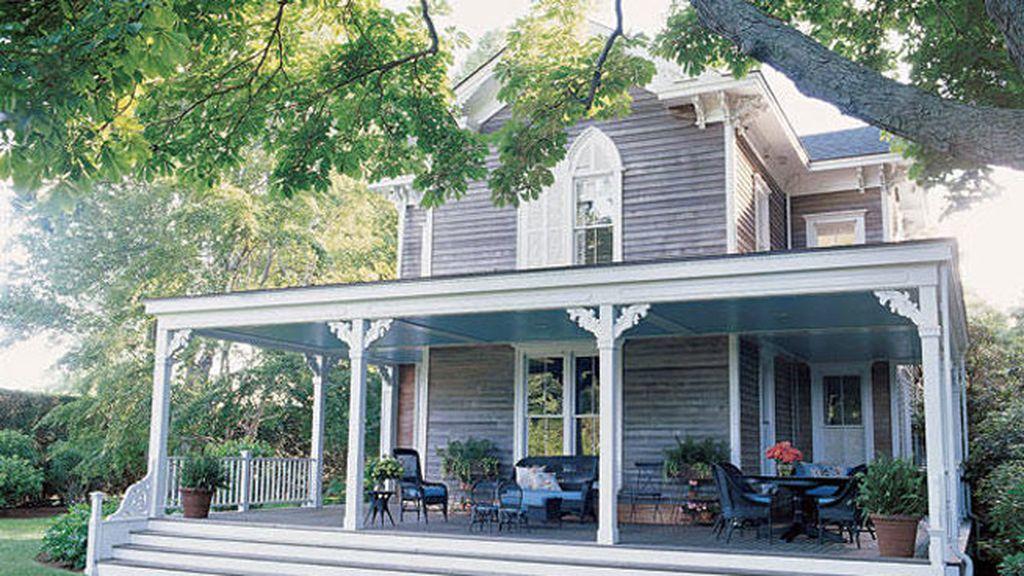 La casa de Sarah Jessica Parker, en Brigedhampton, es de estilo victoriano