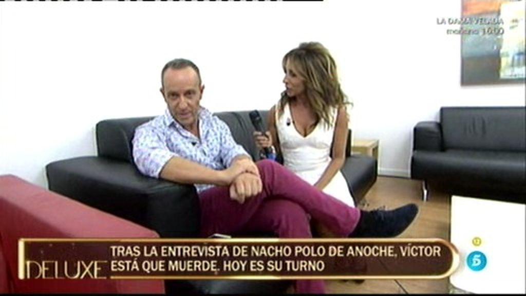 """Víctor Sandoval: """"Tengo informes médicos que certifican que el maltratado fui yo"""""""