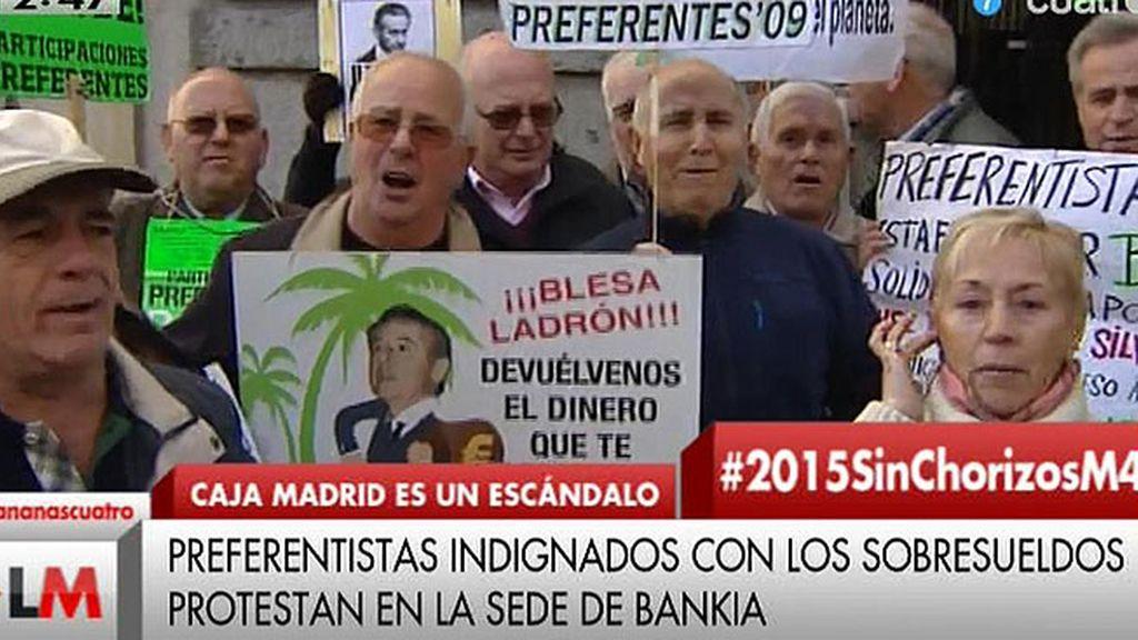 Villancicos protesta: 'Roban, roban y vuelven a roban'