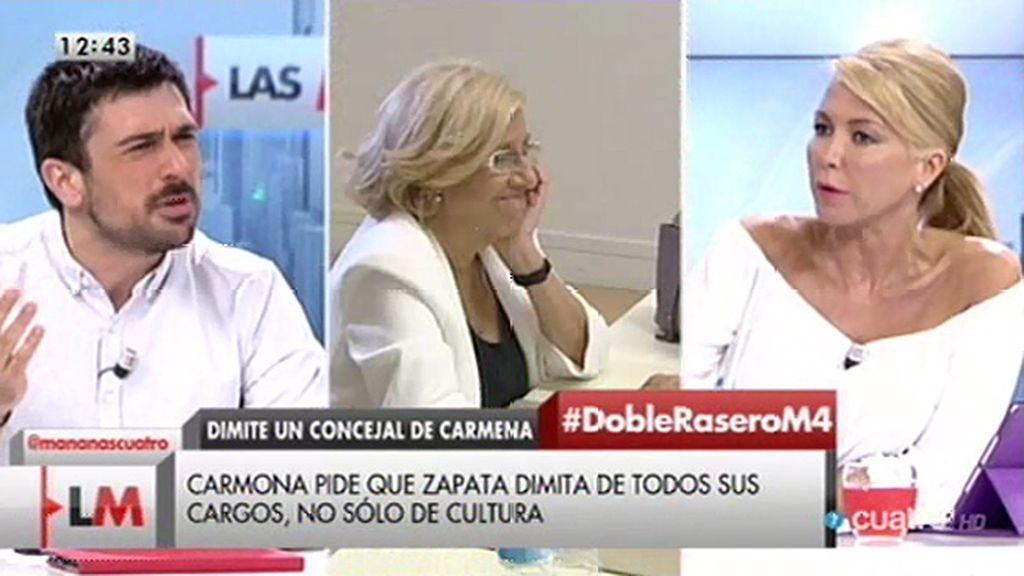 "Ramón Espinar: ""Esos tuits no constituyen a Guillermo Zapata, ni sus opiniones"""