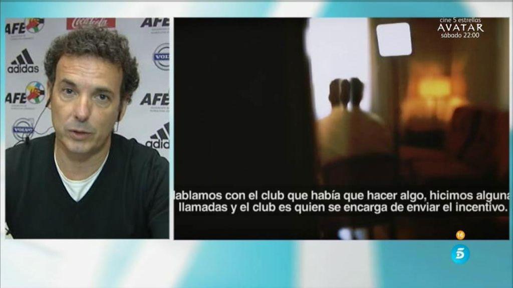 """Javier Edo: """"En la mayoría de los casos los futbolistas se convierten en víctimas"""""""