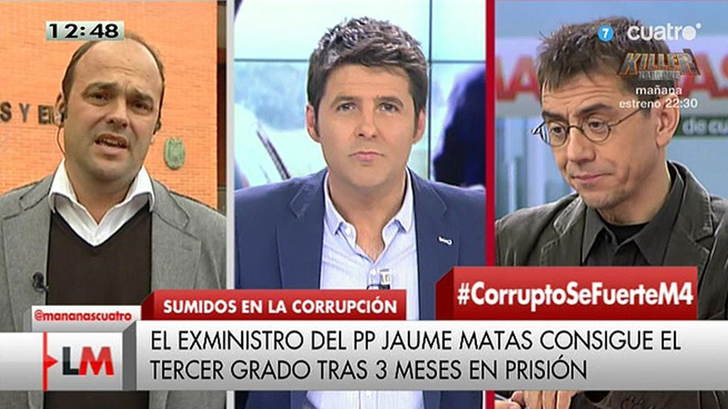 """José Carlos Díez, economista: """"Mariano Rajoy debe de vivir en otro planeta"""""""