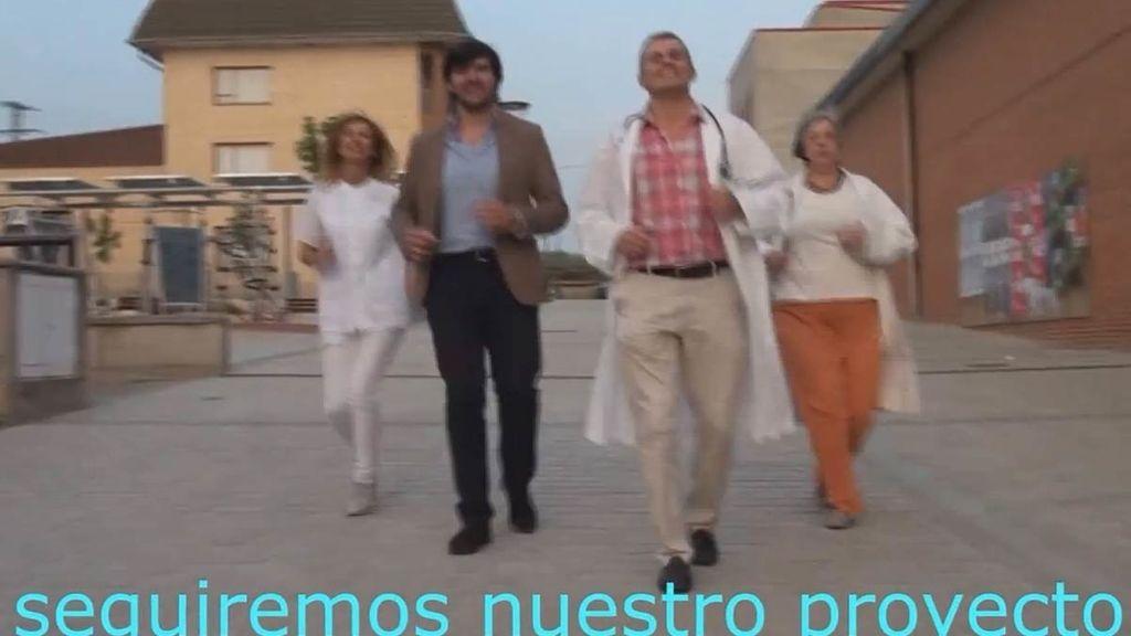 El vídeo musical electoral del alcalde de Oyón