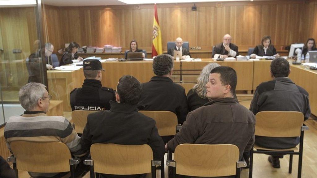 Juicio a Lucio García Blanco, José Francisco Cela Seoane, Isabel María Aparicio y Manuel Ramón Arango. Foto: EFE / Archivo.