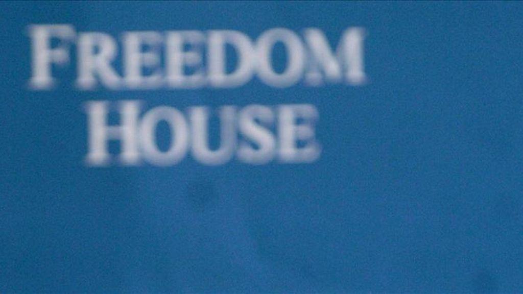 Freedom House es un grupo de estudios conservador con sede en Washington DC y con oficinas en cerca de una docena de países. EFE/Archivo