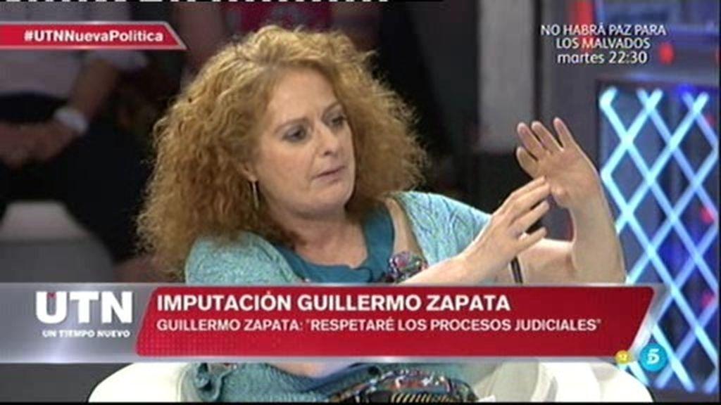 """Pilar Gómez: """"Yo creo que Guillermo Zapata siente lo que dice"""""""