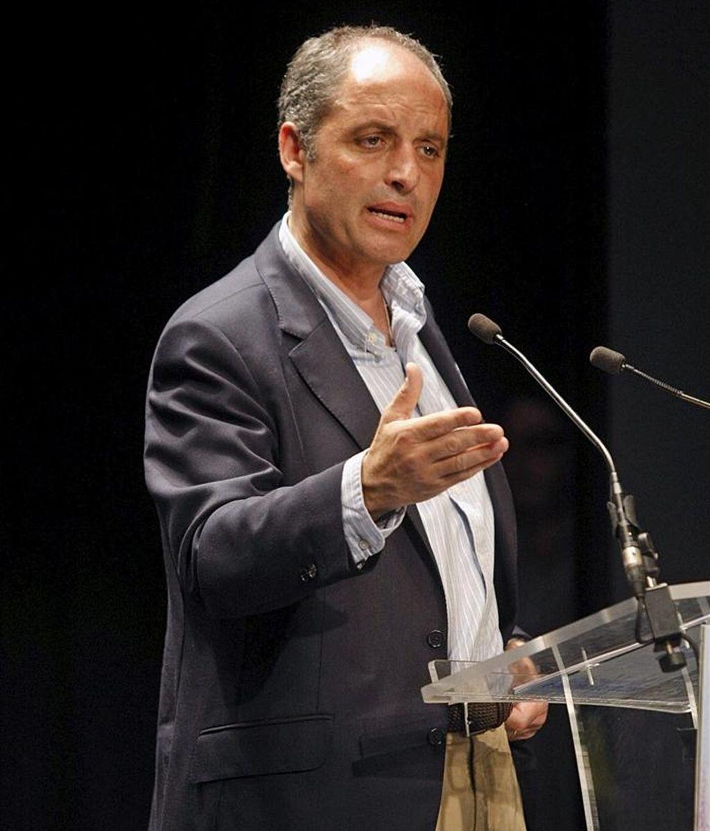 El presidente de la Generalitat, Francisco Camps. EFE/Archivo