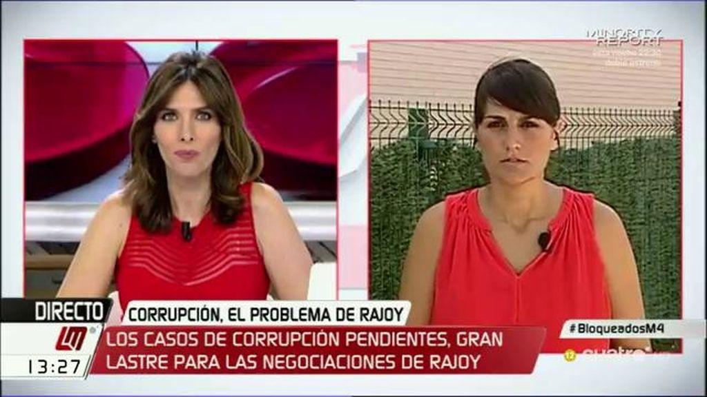 """González Veracruz: """"Hoy hemos visto casi un sí en diferido entre Rivera y Rajoy"""""""