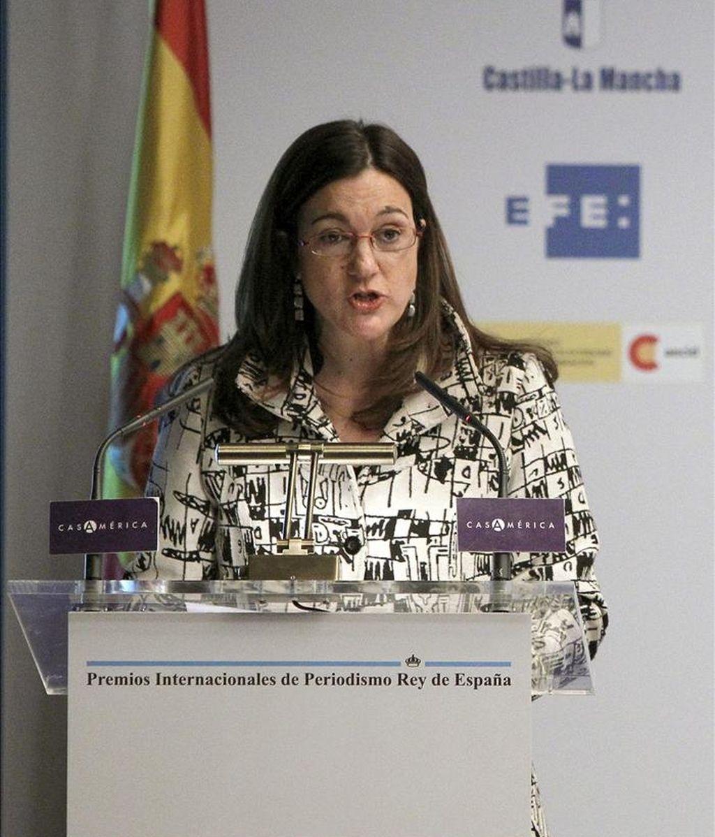 La secretaria de Estado de Cooperación Internacional, Soraya Rodríguez. EFE/Archivo