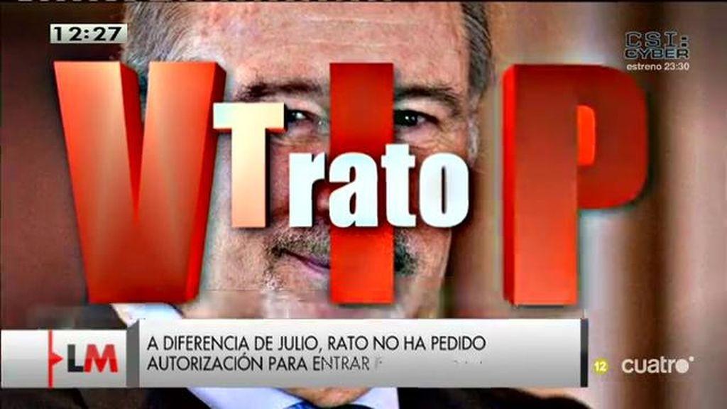 Rodrigo Rato, ¿un imputado vip?