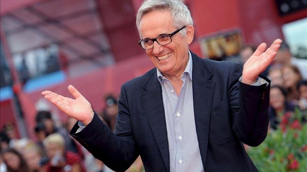 El director italiano Marco Bellocchio. EFE/Archivo
