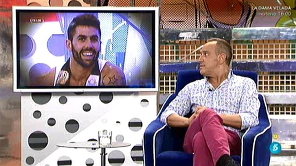 Víctor Sandoval, enamorado de Mr. Gay España, pero tiene novio
