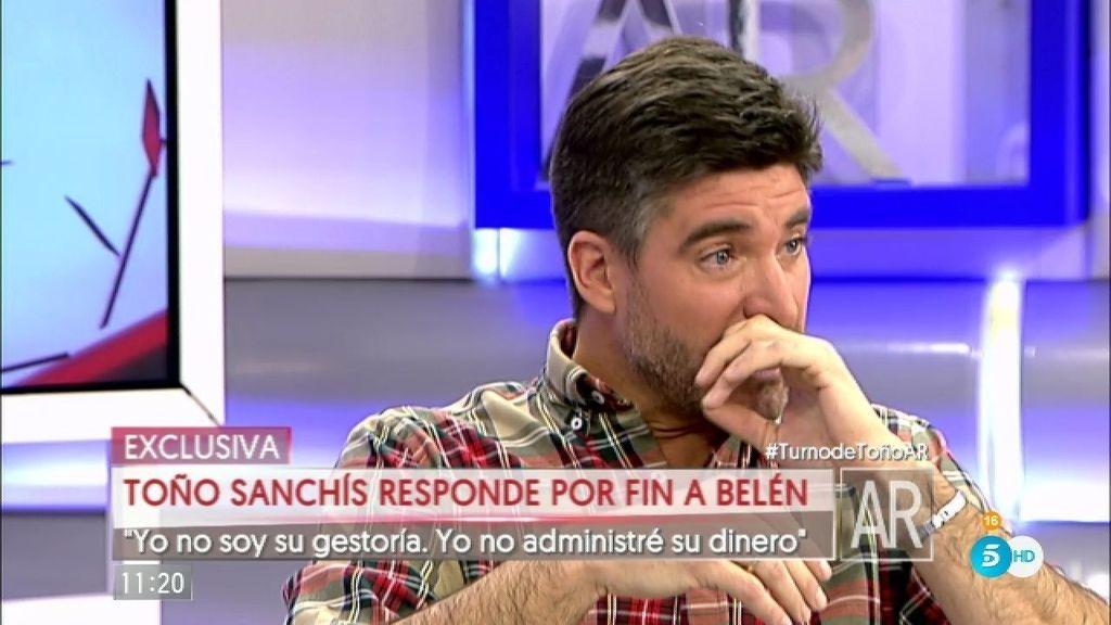 """Toño, sobre Belén: """"Lo nuestro fue un flechazo profesional a primera vista"""""""