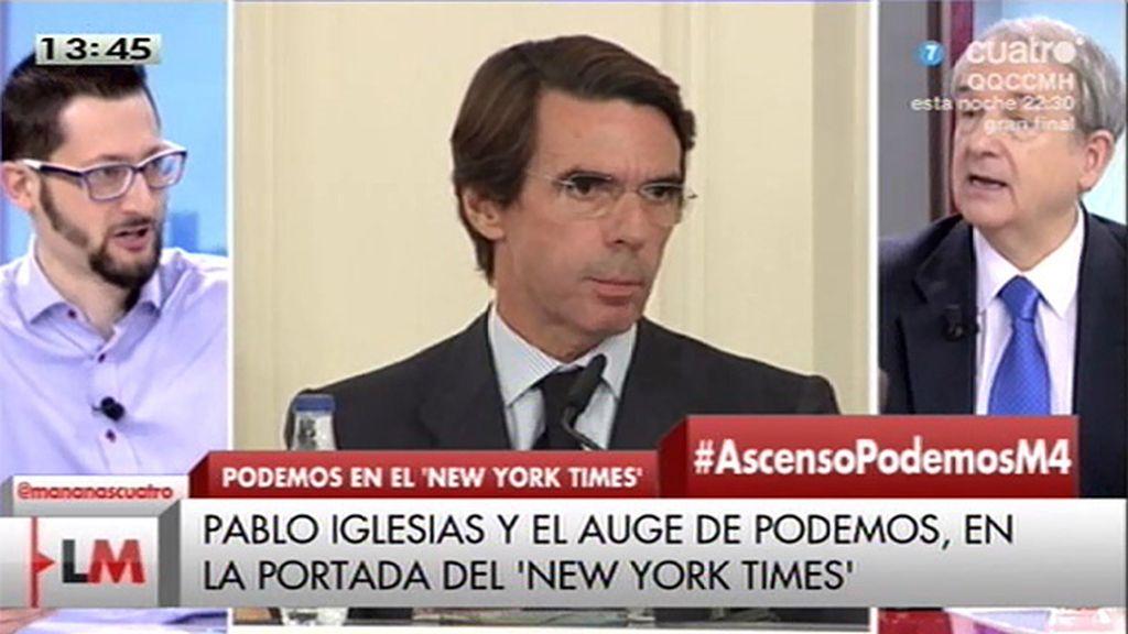 """Apezarena: """"Aznar estaría dispuesto a organizar el cambio en el PP"""""""