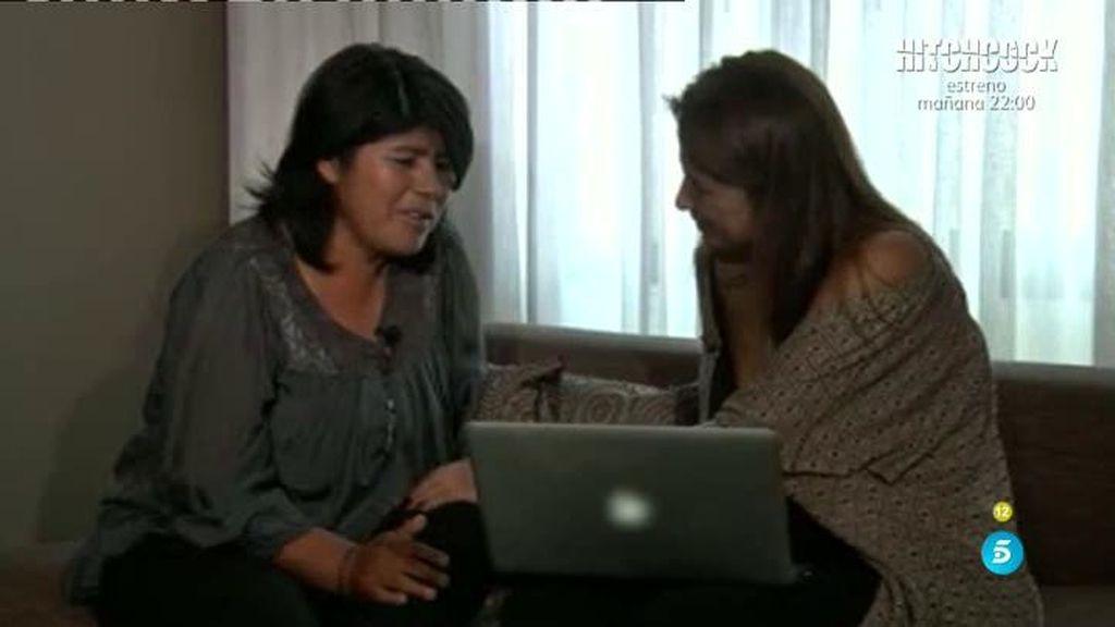 Roxana ve por primera vez al hijo de Chabelita en el ordenador del Deluxe