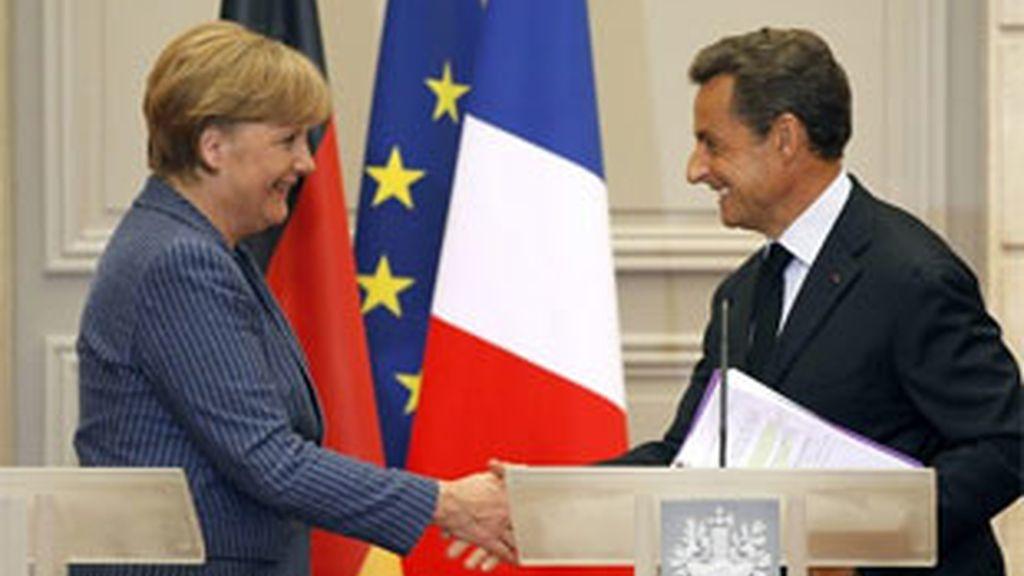"""Merkel: """"No podemos quedarnos de brazos cruzados. A Europa se le va a pedir algo, debemos avanzar y vamos a hacerlo en el marco del eurogrupo"""". Foto: Reuters."""