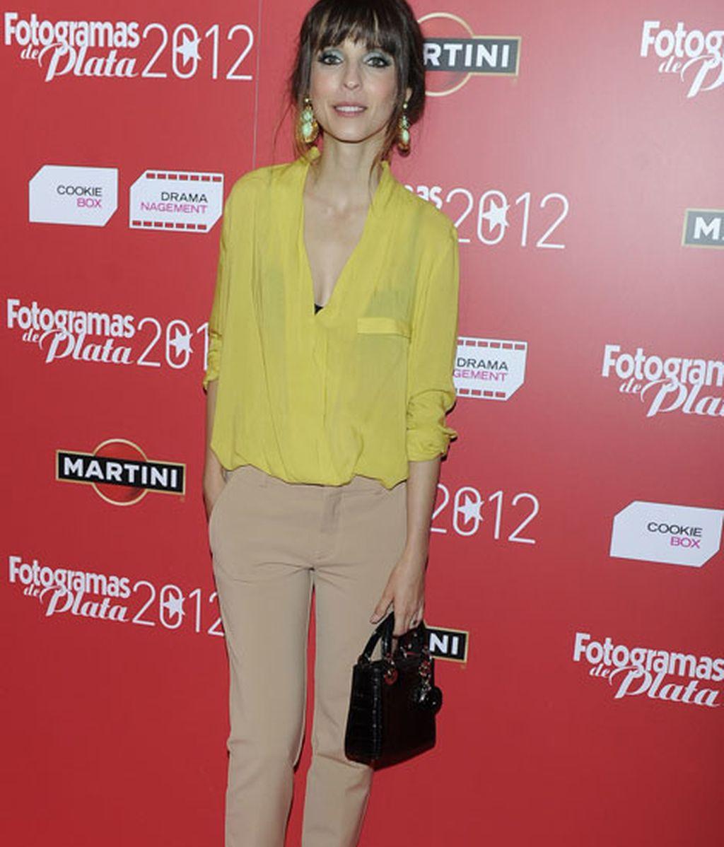 Leticia Dolera no acertó con su estilismo