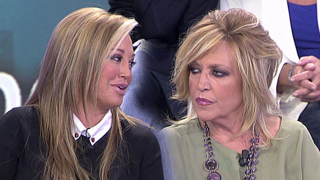 """Belén Esteban dice la verdad: """"Nunca he vetado a Toño Sanchís en ningún programa"""""""