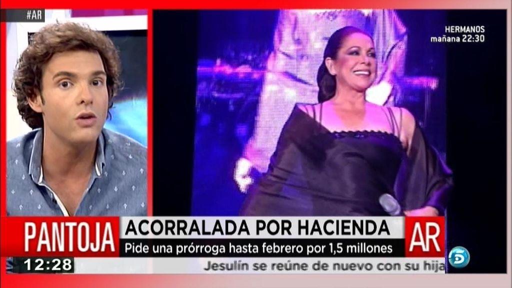 Isabel Pantoja, acorralada por Hacienda