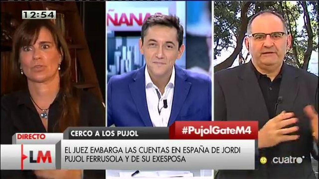 """Antón Losada: """"¿Por qué no se ha tomado ninguna medida cautelar contra los Pujol? Igual no hay tantas pruebas"""""""