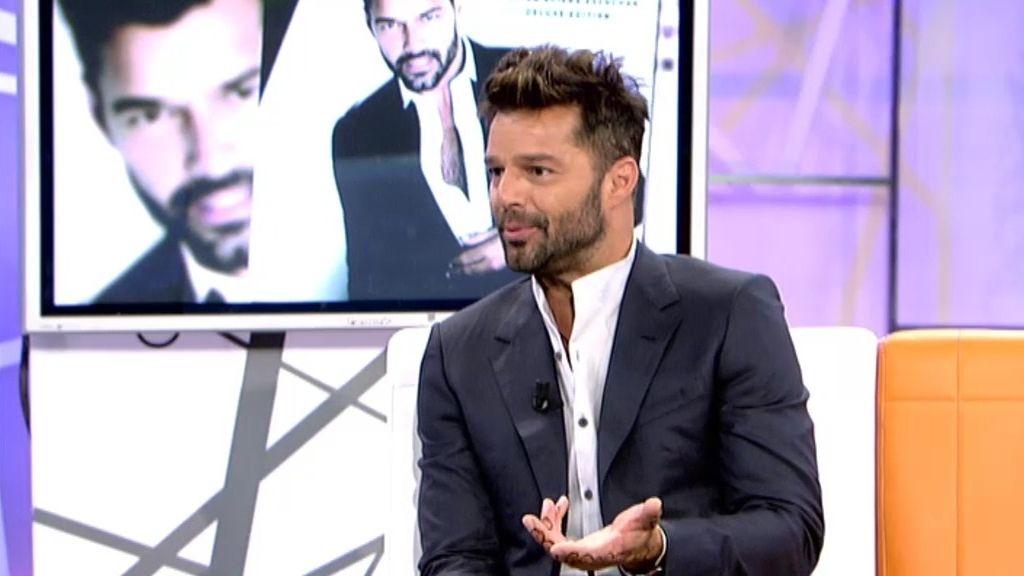 """Ricky Martin: """"Grabé mi disco mientras estaba de gira y cuando llegaba la inspiración"""""""