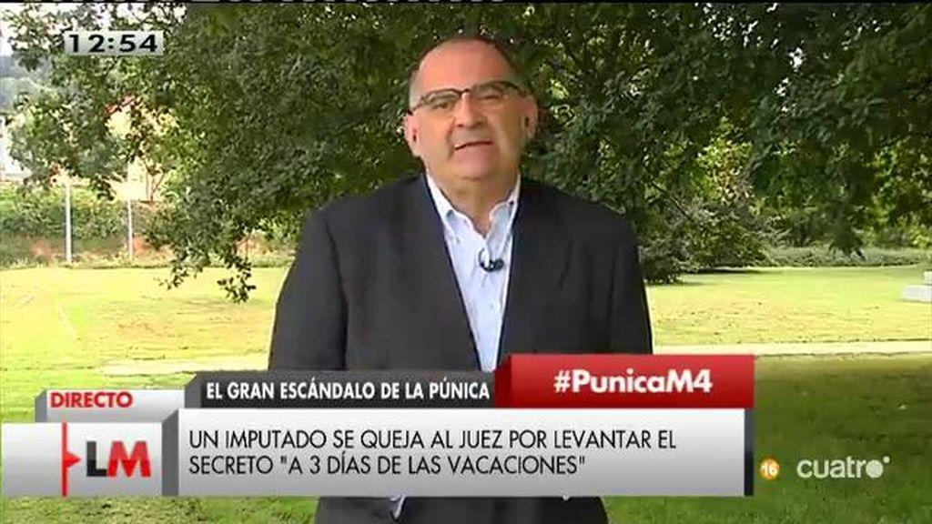 """Antón Losada, de Aguirre: """"Es ese tipo de político que no se va, hay que echarlo"""""""
