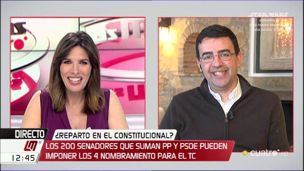 """Mario Jiménez (PSOE): """"No existe una gran coalición entre PSOE y PP"""""""