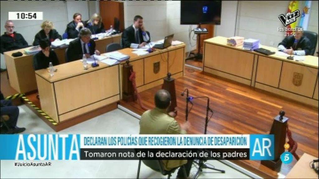 Declaran los policías que recogieron la denuncia de desaparición de Asunta
