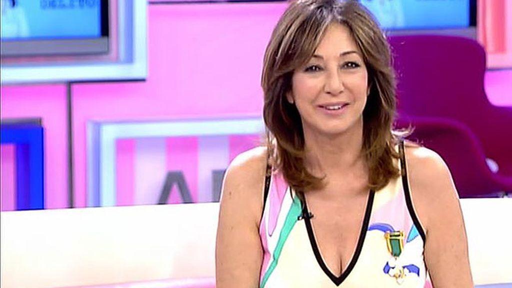 Ana Rosa Quintana, galardonada con la Cruz blanca al mérito policial