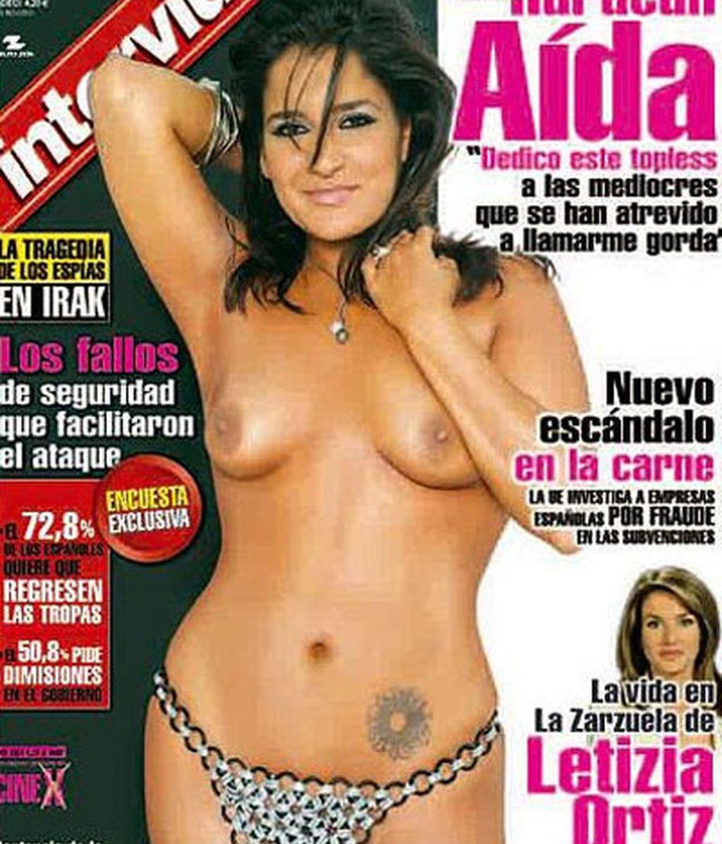 Aida Nizar Desnuda aída nízar se desnuda en interviú