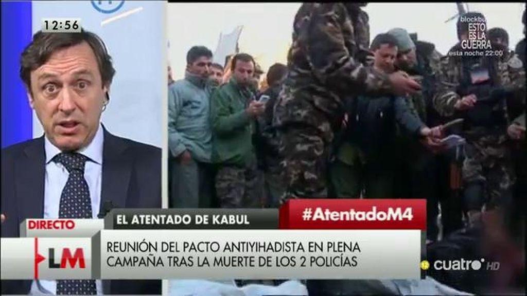"""Rafael Hernando, sobre el ataque en Kabul: """"El Presidente cuenta la información que le dan"""""""