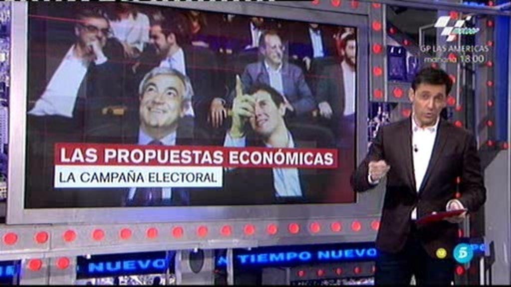 """Javier Ruíz: """"Todos los partidos dicen que pagaremos menos impuestos"""""""