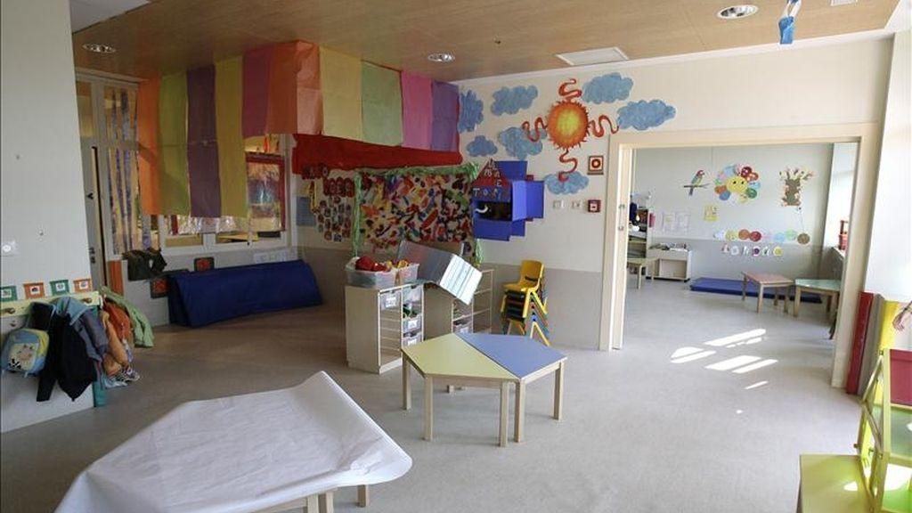 En la imagen, interior de una guardería. EFE/Archivo