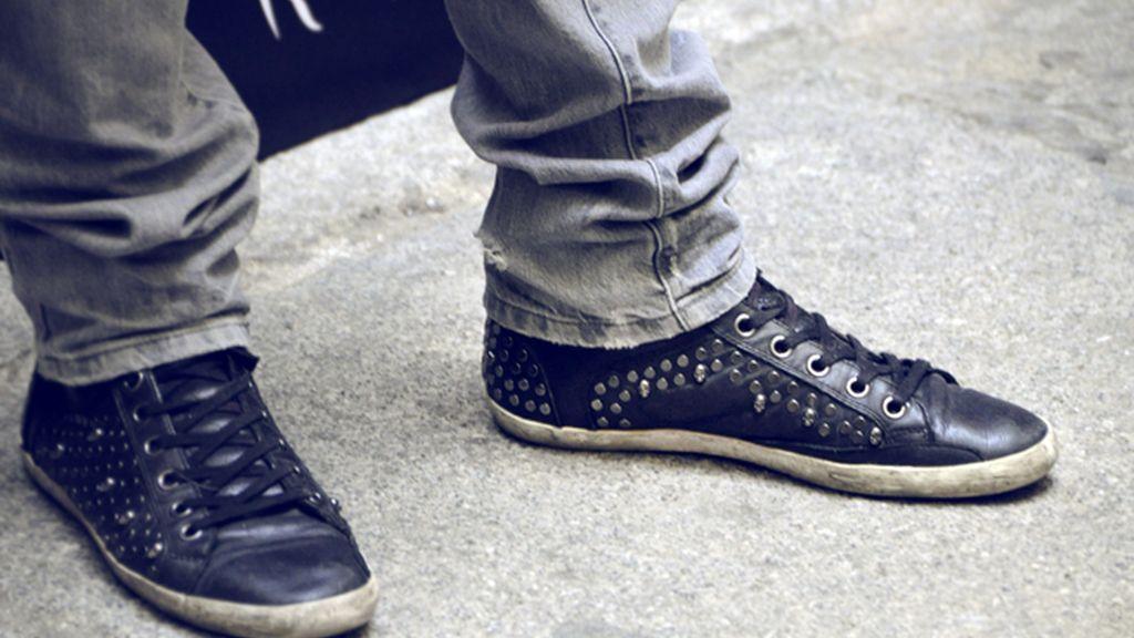 Marc Clotet lució unas originales zapatillas de la firma Ash