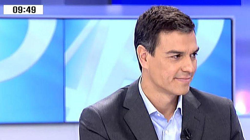 """Pedro Sánchez: """"La independencia no va a traer la libertad"""""""