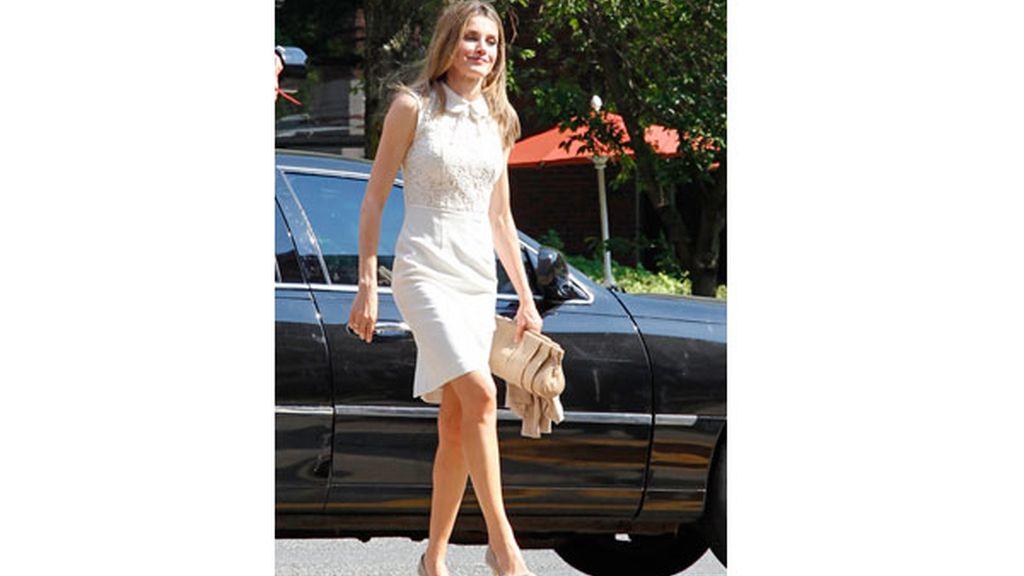 La princesa Letizia en Nueva York