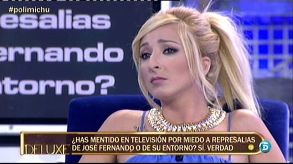 """Michu: """"He mentido en televisión por miedo a represalias del entorno de José Fernando"""""""