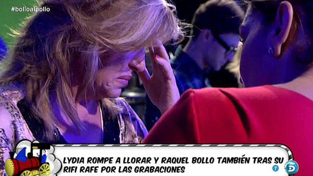 Lydia Lozano abandona el plató llorando