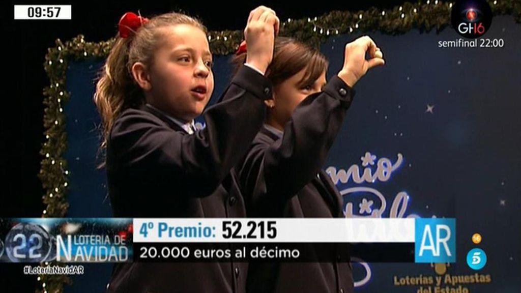 52.215: 4º Premio de la Lotería de Navidad
