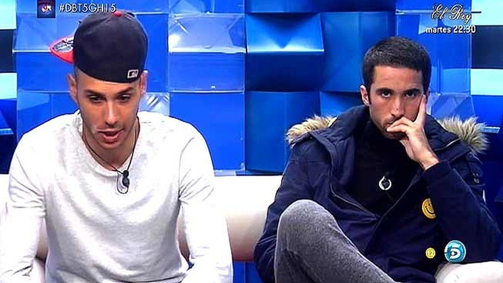 'Gran Hermano' sanciona a Luis y a Omar con una tarjeta amarilla tras su pelea