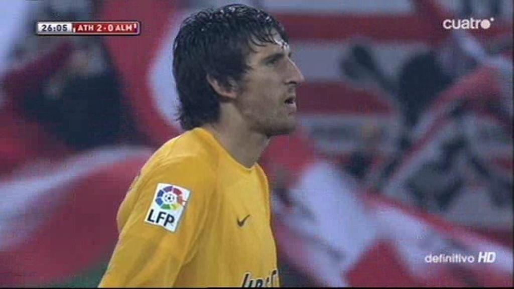 Golazo de pillo de Mikel Rico (2-0)