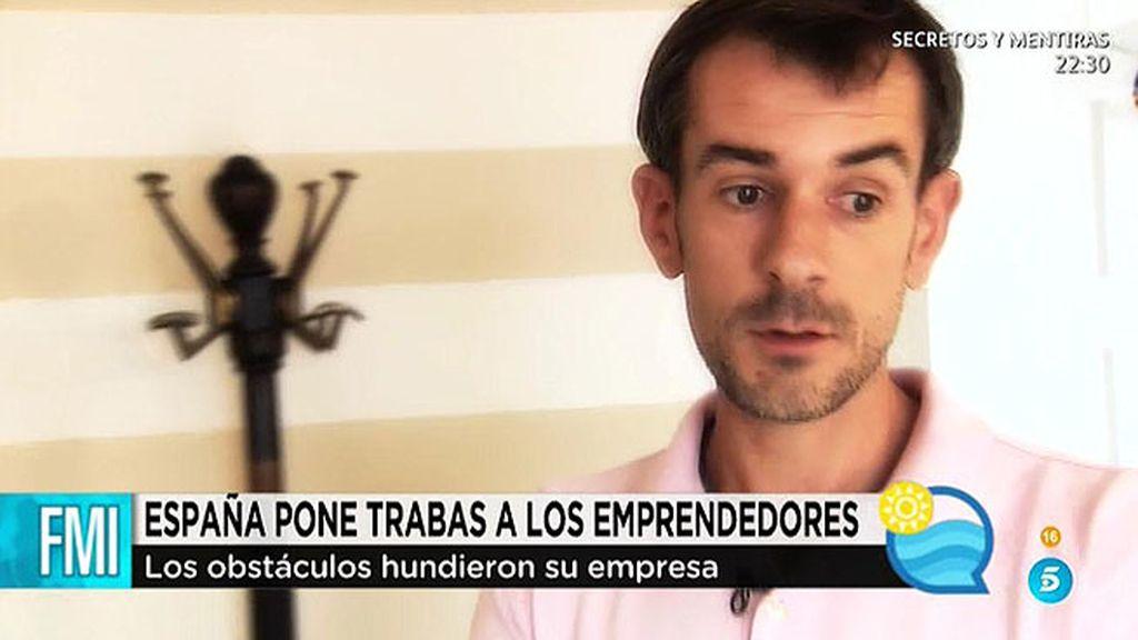 Juan, un emprendedor que no pudo sobrevivir a la crisis