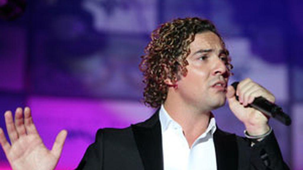 David Bisbal durante un concierto en Madrid el pasado 17 de junio. Foto: GTres